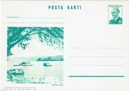 LBR38 - TURQUIE EP CP SERIE COURTE DE 1965