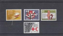 Suisse - Neuf** - Anniversaires - Année 1986 - YT 1256/59