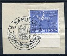33401) DEUTSCHES REICH # 698 Gestempelt Aus 1939, 20.- €