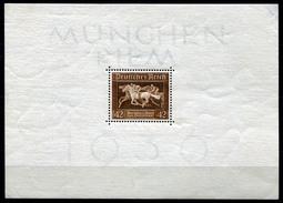 33403) DEUTSCHES REICH Block 4 Postfrisch Aus 1936, 32.- €