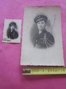 MARINE AVIATION MILITAIRE  RÉGIMENT ARMÉE  A IDENTIFIER  2 Photographies Photo Originale>Guerre,Militaire,Militaria