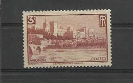 FRANCE 1938  AVIGNON Chateau Des Papes    YT 391 Neuf** /lot B