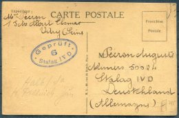 1940 France Stalag 4D Censor POW Kriegsgefangenen Deutschland Germany - Storia Postale
