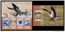 S. TOME & PRINCIPE 2014 - Secretary Bird; CV = 29 €