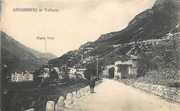 Italy Anghebeni In Vallarsa Zugna Torta Cartolina Animata Military Man Soldier - Non Classificati