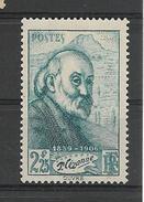 FRANCE 1939  Centenaire De Paul Cézanne YT 421 Neuf** (LOT B)