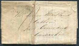 1820 GB Stamp Office, Somerset Place, Legacy Duty / Will Document - Lathom, Ormskirk, Lancashire - ...-1840 Precursori