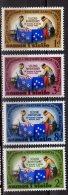 1965 Samoa -2 Jahre Freundschaftsvertrag Mit Neuseeland  - 4v MNH** MI 126/29 Xdr