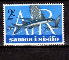 1965 Samoa I Sisifo - Airmail - Flying Fish / Fliegende Fische (Cypselurus Sp.) - 1v Paper - MNH** MI 136 Xdr