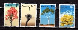 1978 Australia - Trees / Bäume - 4v MNH** - MI 649/52 Xdr