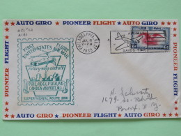 USA 1939 First Flight (rotory-wing Aircraft) Cover Philadelphia To Bronx - Eagle - Plane Cancel