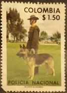 COLOMBIA 1976 National Police. USADO - USED