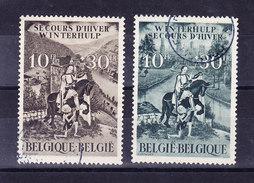BELGIQUE COB 639/40 OBL  (6C146)