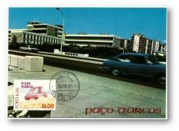 PAÇO D'ARCOS - Escola Nautica Infante De Sagres - 09.10.1981 - MAXICARD - MINHO - Portugal