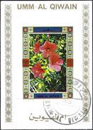 Umm Al-Qiwain 1972 - Flowers ( Mi B1042B - YT Xxx ) Block Imperforated