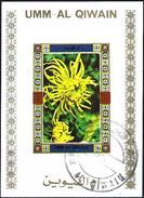 Umm Al-Qiwain 1972 - Flowers ( Mi B1037B - YT Xxx ) Block Imperforated