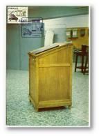 LISBOA - Escrivaninha Para Livro De Ponto - 01.12.1981 - Quinzena Cultural  Bancária - MAXICARD - Portugal