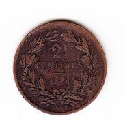 LUXEMBOURG KM 21, 1854, 2 1/2c, XF. (B393)