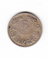 LUXEMBOURG KM 26, 1908, 5 C. (B397) - Luxembourg