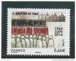 FRANCE 2014 MARTYRS DE TULLE  NEUF** YT 4865 -        TDA154