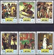 Umm Al-Qiwain 1972 - Napoleon Bonaparte ( Mi 616/21 - YT Xxx ) Complete Series