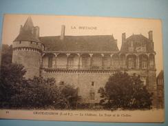 Châteaugiron. Le Château. La Tour Et Le Cloître.