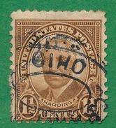 United States - 1922-25 - Harding - Scott #553