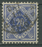 Württemberg Dienstmarken 1906/16 Ziffer In Raute 116 A Gestempelt