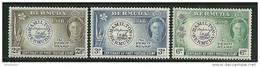 "Bermuda      ""First Postage Stamp-Flowers""      Set     SC# 135-37    MNH**"