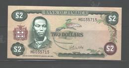 JAMAICA $2 1960, (IN MY OPINION), UNC - Jamaique