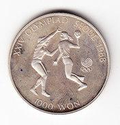 COREE DU SUD 1987 1000 Won.  (FP19)