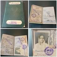 Pakistan 1957 Passeport Passport Reisepass Isuued In Rangoon, Burma W Plenty Of Visas - Documents Historiques