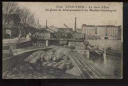 Lyon Vaise La Gare D Eau Les Quais De Debarquement - Lyon 9