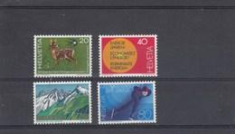 Suisse - Neuf** - Propagande. - Année 1976 - YT 1009/12