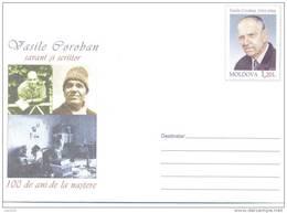 "2010. Moldova, Prep. Env. ""Vasile Coroban, Writer"", Mint/**"