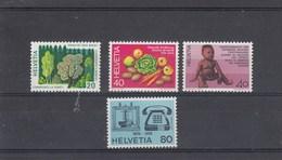 Suisse - Neuf** - Propagande. - Année 1976 - YT 999/1002