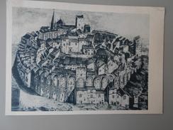 BOUCHES-DU-RHONE LES ARENES D'ARLES AU MOYEN AGE 1686