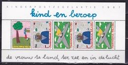 Nederland 1987 Velletje Kinderzegels NVPH 1390 Postfris