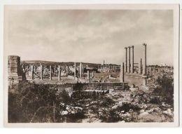 AFRICA - LIBYA - SABRATHA - THE FORUM - 1938  ( 899 ) - Cartes Postales