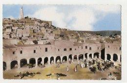 ALGERIA - GHARDAIA - M'ZAB - PLACE DU MARCHE - COLL PIGNELLA - 1950s/60s ( 889 ) - Cartes Postales