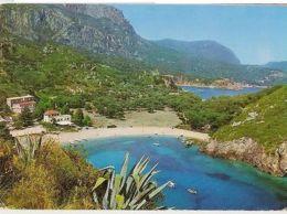 GREECE - CORFOU /  CORFU' PALEOCASTRIZZA - EDIT TRIMBOLI - STAMPS - 1960s (908) - Cartes Postales