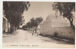 TUNISIA - KAIROUAN - LA RUE DE SFAX - EDIT ND. PHOT. 1910s ( 925 ) - Cartes Postales