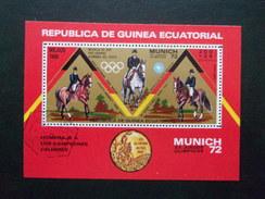 Guinée Equatoriale Cheval Hippisme JO 72 Munich  Jeux Olympique 1972