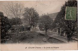 Luçon Le Jardin De L Hopital - Lucon