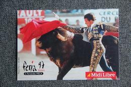 """BEZIERS - FERIA 97 - Corrida : """" S.FERNANDEZ MECA"""". - Corrida"""