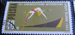 Poland 1962 European Athletics Championship Belgrade 40gr - Used