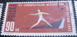Poland 1962 European Athletics Championship Belgrade 90gr - Used