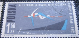 Poland 1962 European Athletics Championship Belgrade 1.50zl - Used