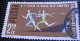 Poland 1962 European Athletics Championship Belgrade 2.50zl - Used