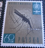 Poland 1962 Fight Against Malaria 60gr - Used